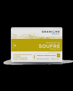 Granions De Soufre 19,5Mg/2Ml 30 Ampoules