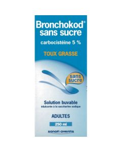 BRONCHOKOD ADULTES sirop