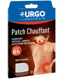 Urgo Patchs Chauffant 2 patchs
