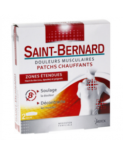 Merck Saint Bernard Patchs Chauffants Zones Etendues 2 Patchs