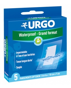 Urgo Waterproof Grand Format 5 pansements optiskin