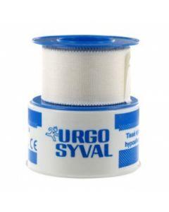 Urgo Syval Sparadrap Tissé Rigide 5mx2.5cm