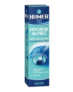 Urgo Humer Hygiène Nez Solution Isotonique Adulte 150ml