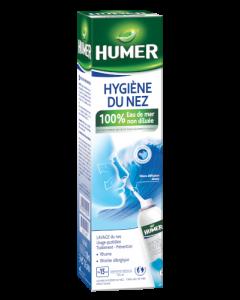 Humer Hygiène du Nez 100% Eau de Mer Adulte 150ml