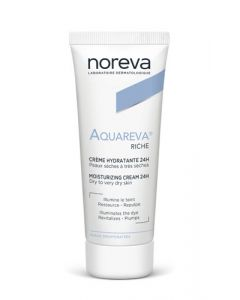 Noreva Aquareva  Crème Riche Hydratante 24H 40ml