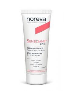 Noreva Sensidiane Crème apaisante riche Peaux sèches à très sèches 40ml