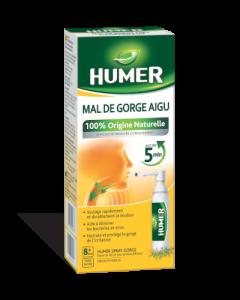 Humer Mal de Gorge Aigu 100% Origine Naturelle Spray 20ml