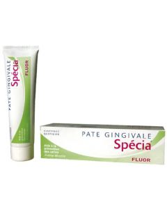 Sodia Pâte Gingivale Specia Fluor Prevention des Caries 100ml