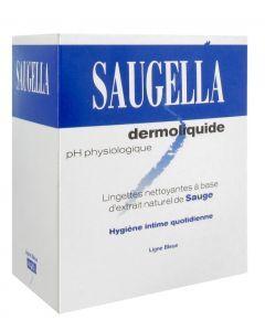 Saugella Dermoliquide 10 Lingettes