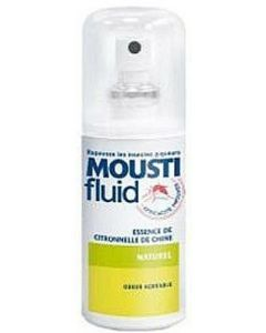 Moustifluid Essence de Citronnelle de Chine 75ml