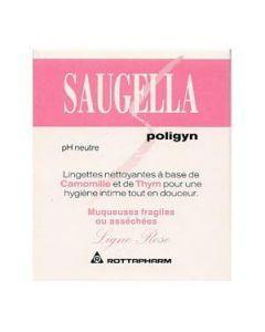 Saugella Poligyn Intime 10 Lingettes