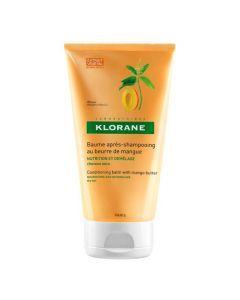 Klorane Capillaire Baume Apres-shampooing au Beurre de Mangue 150ml