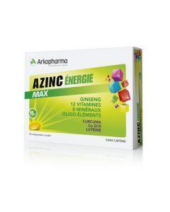 Arkopharma Azinc Énergie Max 30 comprimés