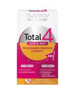 Nutreov Physcience Total 4 Jour/Nuit Boite 15 Gélules + 15 Comprimés