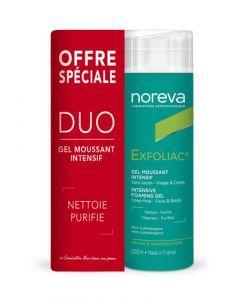 Noreva Exfoliac  Duo - Gel Moussant Intensif 2 x 200ml