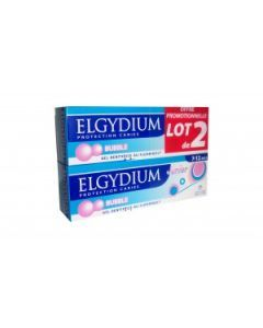 Elgydium Dentifrice Junior Protection Caries 7-12 Ans Bubble Duo 50ml