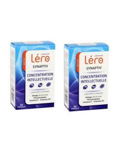 Léro Synaptiv Concentration Intellectuelle Lot de 2x30 Comprimés