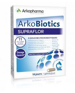 Arkopharma Arkobiotics Supraflor 14 gélules