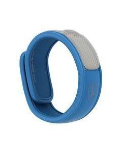 Parakito bracelet anti-moustiques naturel bleu 1 unité + 2 recharges