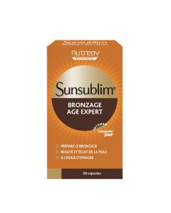 Nutreov Physcience Sunsublim Bronzage Age Expert Boite 28 Capsules