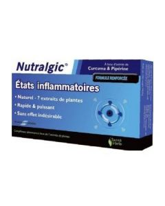 Santé Verte Nutralgic Etats Inflammatoires 10 Comprimés