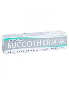 Buccotherm Pâte Dentifrice Blancheur et Soin Bio 75ml