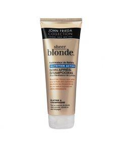 John Frieda Sheer Blond Soin Après Shampooing Nutrition Active 250ml