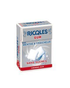 Ricqles Gum Chewing-Gum Sans Sucres - Etui 24G