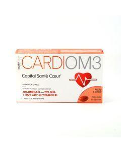 Complément Oméga 3 Om3 Cardiom3 60 Capsules