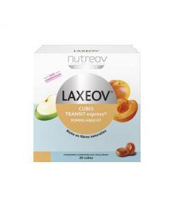 Nutreov Laxeov Cubes Transit Pomme Abricot 20 Cubes
