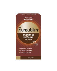 Nutreov Physcience Sunsublim Bronzage Intégral Boite 30 Capsules