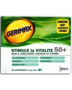 Gerimax Vitalité 50+ 30 Comprimés