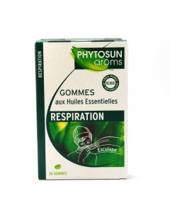 Phytosun Arôms 30 Gommes Respiration Esculape