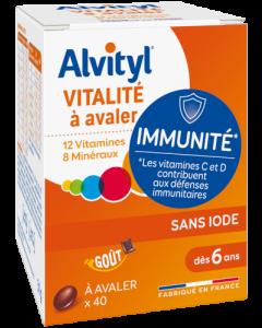 Alvityl 29,2g Vitalité 40 comprimés