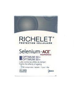Richelet Selenium ACE Optimum 50+ 90 Comprimés