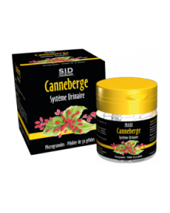 SID Nutrition Canneberge  Confort Urinaire 30 Gélules