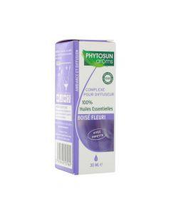 Phytosun Arôms Complexe Pour Diffuseur Boisé Fleuri 30ml
