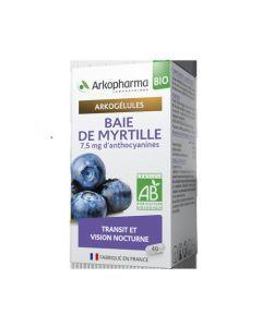 Arkopharma Arkogélules Bio Baie de Myrtille 40 gélules