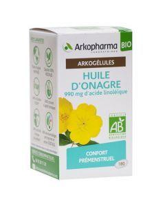 Arkopharma Arkogélules Bio Huile d'Onagre 180 capsules