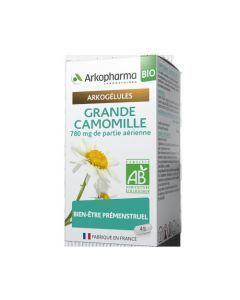 Arkopharma Arkogélules Bio Grande Camomille 45 gélules
