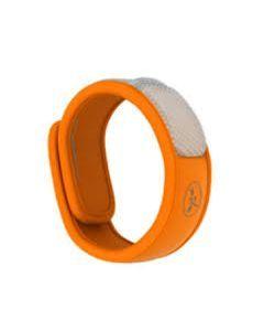 Parakito Bracelet Anti-moustiques Naturel Orange 1 Unité + 2 Recharges