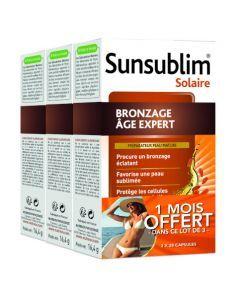 Nutreov Sunsublim Bronzage Age Expert 2x28 Capsules + 1 Mois Offert