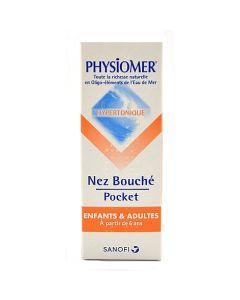 Sanofi Physiomer Nez Bouché Adulte Spray Hypertonique 20ml