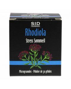 SID Nutrition Rhodiola Stress Sommeil 60 gélules