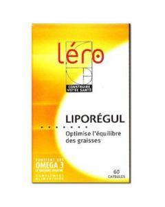 Léro Liporégul Oméga 3 Concentrés 90 Capsules