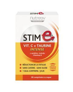 Nutreov Physcience Stim E Vitamine C Intense Boite 30 Comprimés