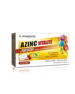 Arkopharma Azinc Vitalité Junior Cola 30 comprimés