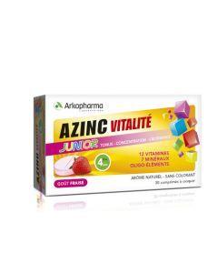 Arkopharma Azinc Junior Vitamines C et E Manganèse Zinc 30 comprimés