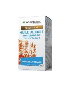 Arkopharma Arkogélules Huile de Krill et Manganèse 45 capsules