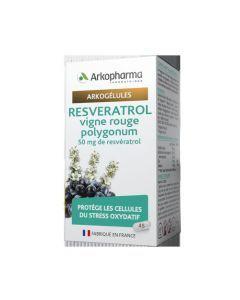 Arkopharma Arkogélules Resvératrol 45 gélules